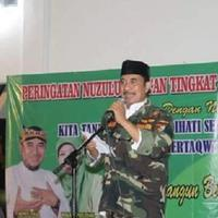 Dalang ternama Indonesia yang kini juga menjabat sebagai Bupati Tegal Ki Enthus Susmono meninggal dunia. (Foto: Liputan6.com/Fajar Eko Nugroho)