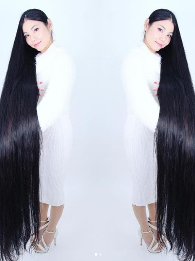 Tak Pernah Potong Rambut Selama 15 Tahun Wanita Ini Dijuluki Rapunzel Jepang Citizen6 Liputan6 Com