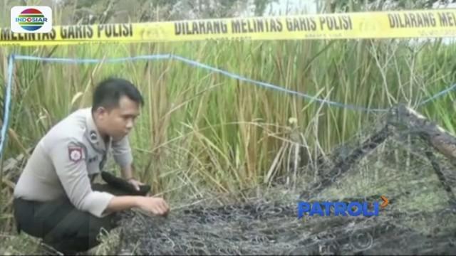 Polda Sumatra Selatan berhasil tangkap 4 dari 5 pelaku pembunuhan wanita yang hangus bersama tempat tidur di Ogan Ilir.