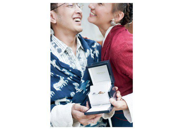Keberadaan cincin di pernikahan Nadien dan Dimas/copyright The Eternity/sry