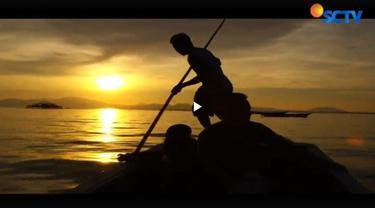 Teri punya arti besar bagi masyarakat desa terapung di Kabupaten Buton Tengah, Sulawesi Tenggara.