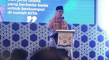 Calon Ketua Umum Kadin Indonesia, Arsjad Rasjid saat menyambangi Sulawesi Tenggara, Minggu (9/5/2021).(Dok. Kadin Sulawesi Tenggara)