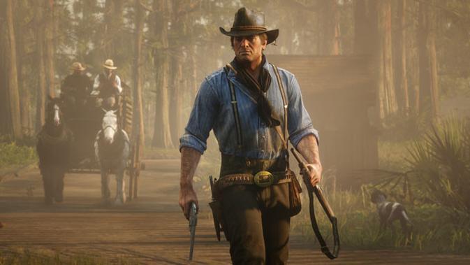 Fitur online untuk gim Red Dead Redemption 2 sudah bisa diakses per hari ini. (Doc: Rockstar Games)