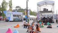 Zona khusus di Asian Fest. (Photografer: Deki Prayoga/Bintang.com)