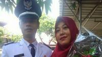 Kepala Desa Sukaraja terpilih Dede Iskandar meninggal dunia sesat usai dilantik. (Achmad Sudarno/Liputan6.com)
