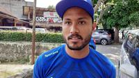 Striker Persib Bandung, Wander Luiz. (Bola.com/Erwin Snaz)