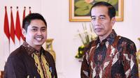 Ketua Umum Apkasi, Mardani H Maming bersama Presiden Jokowi. (Istimewa)