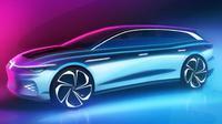 VW perkenalkan mobil konsep berjuluk ID. Space Vizzion. (Motor1)