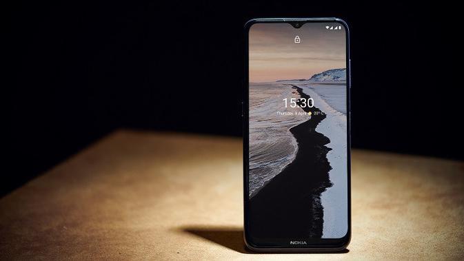 Tampilan smartphone Nokia G20 dan Nokia G10 yang baru diperkenalkan HMD Global. (Foto: HMD Global)