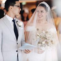 Potret pernikahan Yuanita Christiani dan Indra Wiguna. (Foto: instagram.com/yuanitachrist)