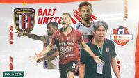 Bali United - Ilustrasi Bali United di Liga 1 (Bola.com/Adreanus Titus)
