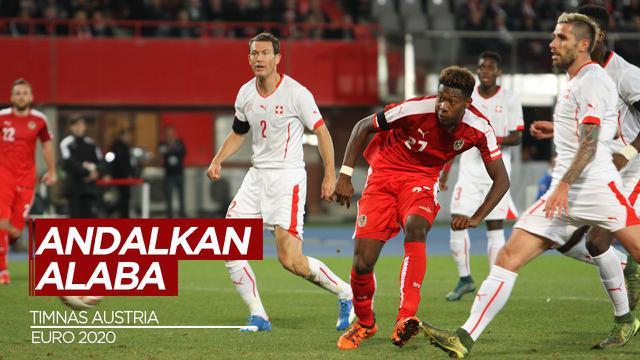 Cover Austria Andalkan David Alaba dan Marcel Sabitzer di Euro 2020