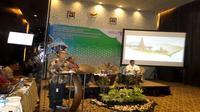 Focus Group Discussion (FGD) Kebijakan Dalam Pengembangan Pariwisata Alam Kementrian Pariwisata. FGD digelar di Hotel Akmanani, Selasa (23/10).