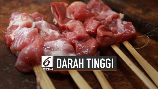 Banyak orang menghindari daging kambing karena takut risiko hipertensi.