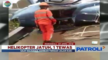 Aris Heni Iriawan, korban tewas kecelakaan helikopter di Morowali, Sulawesi Tengah, dikenal sebagai tulang punggung keluarga.