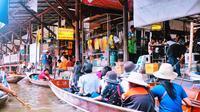 Kota Bangkok dianggap oleh sebagian wisatawan sebagai kota paling bau di dunia, akibat aroma yang dikeluarkan oleh buah durian yang dianggap terlalu menyengat.(Istimewa)