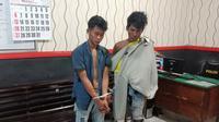 Dua tersangka pencurian yang kabur ke Markas TNI
