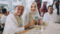 Momen Pernikahan Evan Dimas dan Dewi Zahra (Sumber: Instagram/