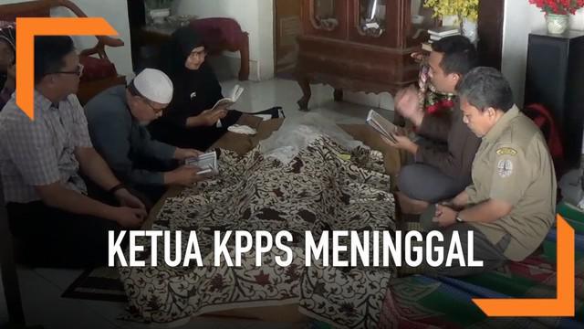 Meninggalnya ketua KPPS terjadi di kota Bogor, Jawa Barat. Almarhum Sofyan sempat mengaku sakit tenggorokan malam sebelum meninggal.