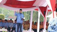 Anies Baswedan pidato di Upacara Peringatan Hari IKADA (Dok. Humas Pemprov DKI)