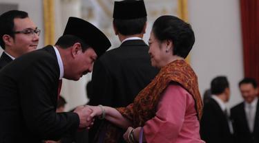 Megawati dan Budi Gunawan