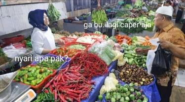 6 Editan Percakapan Penjual dan Pembeli di Pasar ala Netizen Ini Bikin Ngakak