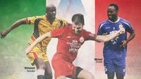 Alumnus Serie A di Liga Indonesia (Bola.com/Adreanus Titus)