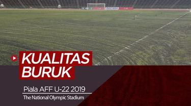 Berita video tentang Stadion Venue Piala AFF U-22 2019 di Kamboja.