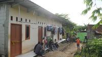 Rumah kontrakan M, korban persekusi di Cikupa, Tangerang, Banten. (Foto: Bintang.com/Daniel Kampua)