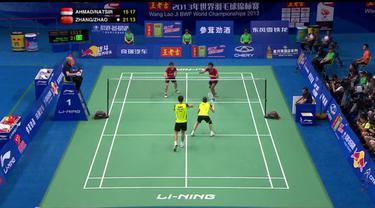 Berita Video Flashback Bulutangkis Laga Final Kejuaraan Dunia Tahun 2013 Antara Tontowi Ahmad/Liliyana Natsir vs Xu Xhen/Ma Jin
