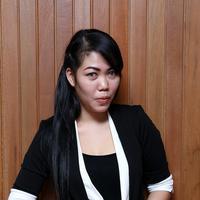 Devi Nurmayanti juga mengaku jika satu tahun terakhir ini ia tidak tinggal seatap dengan Krisna Mukti. (Galih W Satria/Bintang.com)