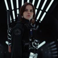 Felicity Jones di Rogue One: A Star Wars Story. foto: comicbook.com
