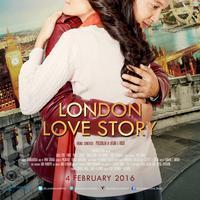 Poster film London Love Story. (Screenplay Films)