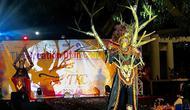 Gelaran Tenggarong Kutai Carnival 2020 dilaksanakan pada malam hari dan disiarkan secara live streaming. (foto: istimewa).