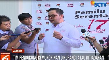 Lantaran berpontensi mengganggu, KPU mempertimbangkan untuk mengurangi bahkan meniadakan kehadiran tim pendukung.