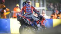 Pembalap asal Italia, Andrea Dovizioso, memperpanjang masa bakti di Ducati hingga MotoGP 2020. (MotoGP.com)