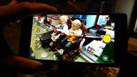 Camera-phone Lenovo Vibe Shot (Foto: Adhi Maulana/Liputan6.com)