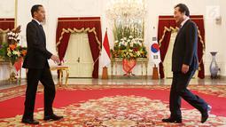 Kunjungan Perdana Menteri Korea Selatan Lee Nak-yeon tersebut diharapkan dapat mempererat persahabatan masyarakat Asia dan juga masyarakat Indonesia dan Korea Selatan. (Liputan6.com/HO/Pur)