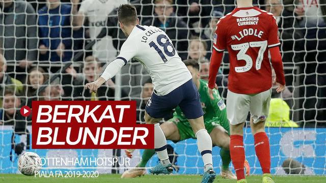 Berita video Tottenham Hotspur tetap melangkah di Piala FA 2019-2020 setelah menang 2-1 atas Middlesbrough (Boro), yang melakukan dua kali blunder.