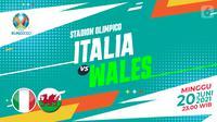 Prediksi italia VS Wales (Trie Yas/Liputan6.com)