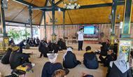 Pelatihan protokol kesehatan dan uji kompetensi diikuti 75 peserta yang tergabung dalam HPI (Himpunan Pramuwisata Indonesia) maupun non-HPI.
