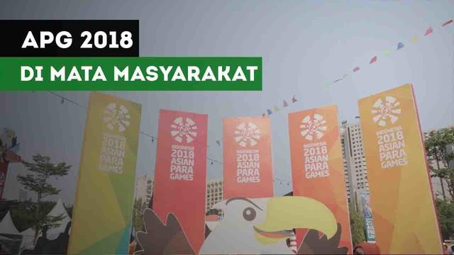 Salah satu penonton menilai Asian Para Games 2018 berhasil memberikan inspirasi untuk masyarakat.