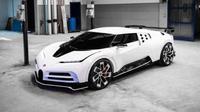Bugatti Centodieci. (Paul Tan)