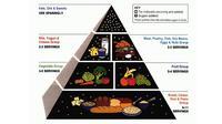 Piramida makanan dari US Department of Agriculture. (USDA)