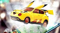 Pikachu dalam Bentuk Mobil