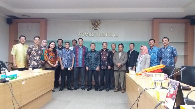 EMTK Grup Emtek Silaturahmi dengan Pimpinan Komisi Yudisial - News Liputan6.com