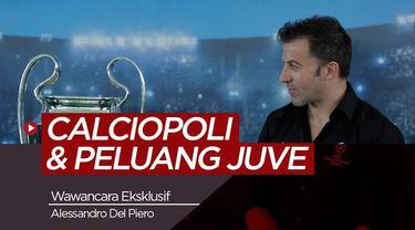Berita video wawancara eksklusif bersama legenda Juventus, Alessandro Del Piero dalam rangkaian acara UEFA Champions League Trophy Tour presented by Heineken.