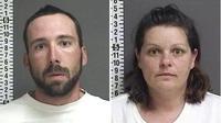 (Foto: AP) Pasangan William Hoehn dan Brooke Crews tega bunuh seorang ibu hamil.