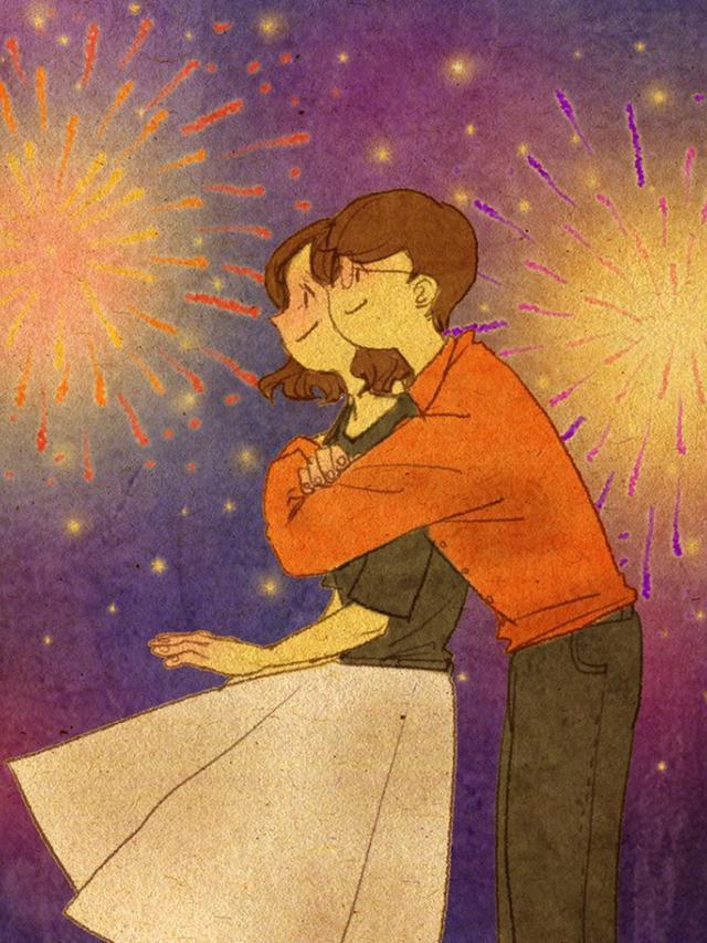 Download 101+ Gambar Ilustrasi Pasangan Keren Gratis