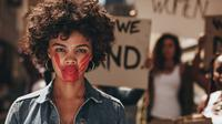 ilustrasi kekerasan perempuan/copyright by Jacob Lund (Shutterstock)